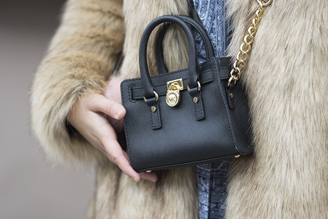 Detail: Michael Kors bag by Marc Schiffler