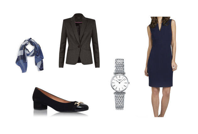 TM Lewin moodboard for women