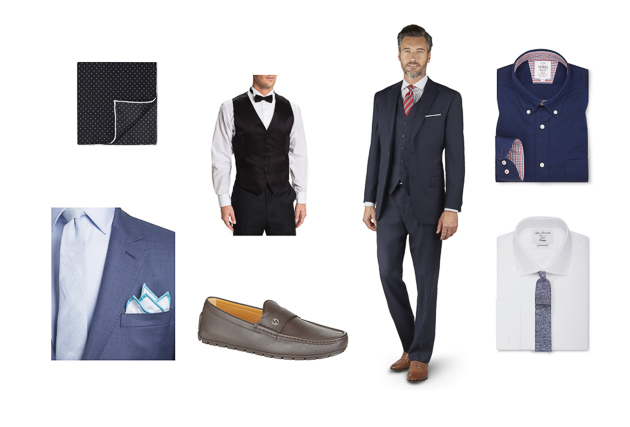 TM Lewin moodboard for men