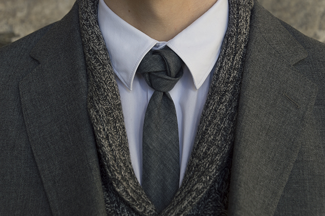 Detail: the Finfrock knot