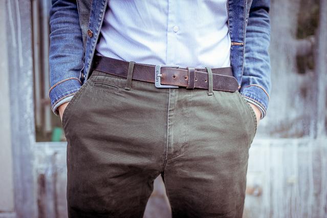 Nicolas wearing a Carpasus shirt, Zara jeans jacket and GAP pants