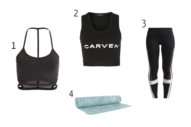 Claire's sporty clothes wishlist