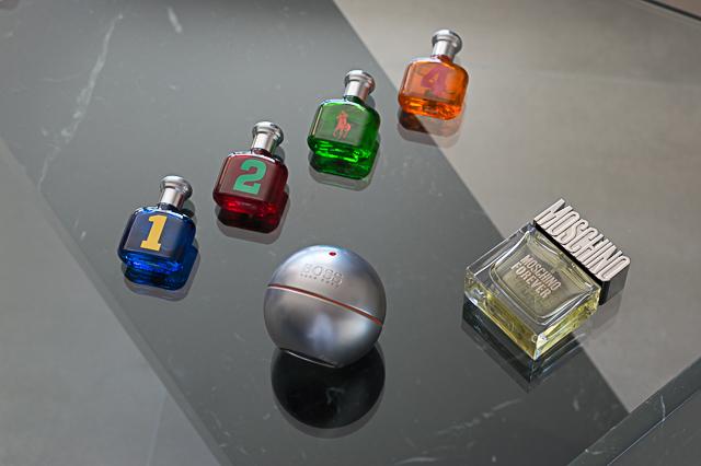 Nicolas' current favourite perfumes