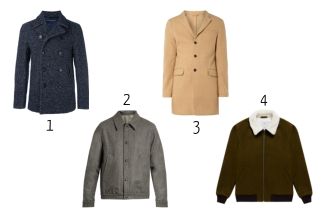 Nicolas' selection of Men's Outerwear for Fall