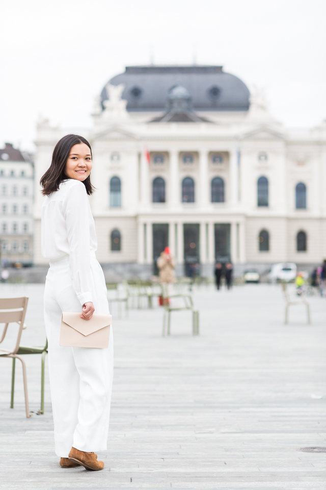 Claire in 'Parisian Looks for Chic in Zurich'