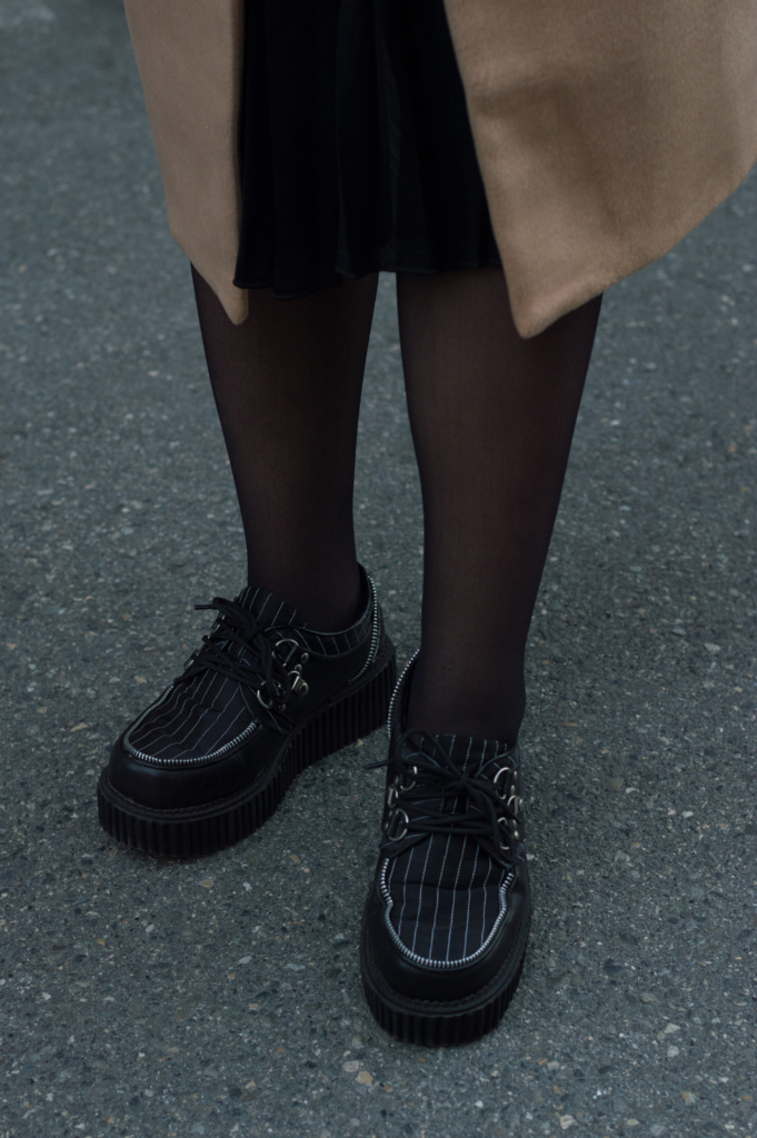 Detail: creepers shoes