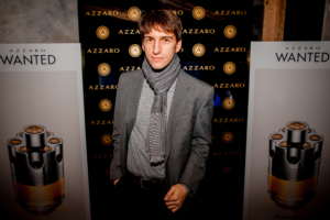 Nicolas from Dresscape attending Azzaro Event