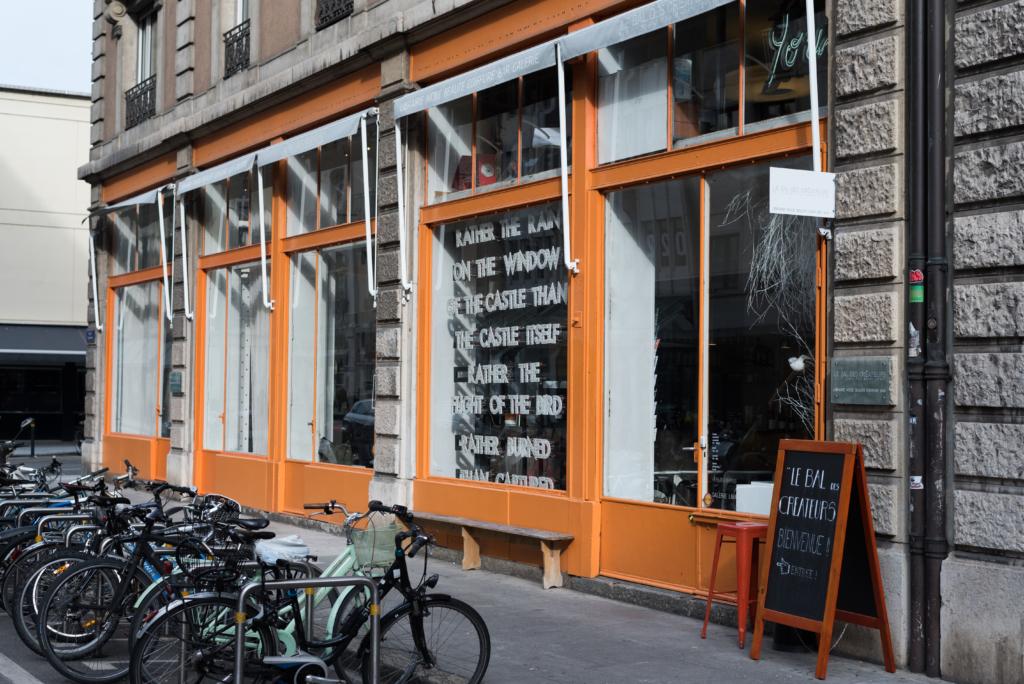 Le Bal des Créateurs salon from the outside in Geneva, Switzerland