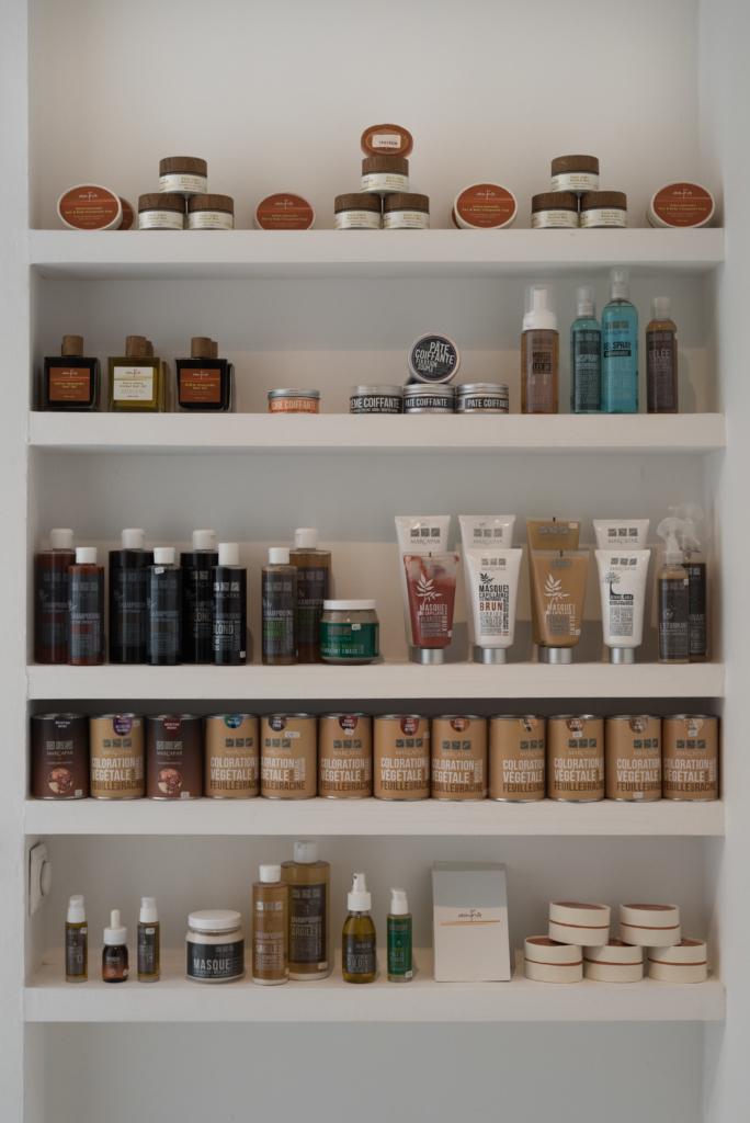 Hair products at Le Bal des Créateurs