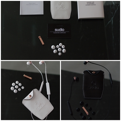Unboxing the VASA BLÅ earphones by Sudio Sweden