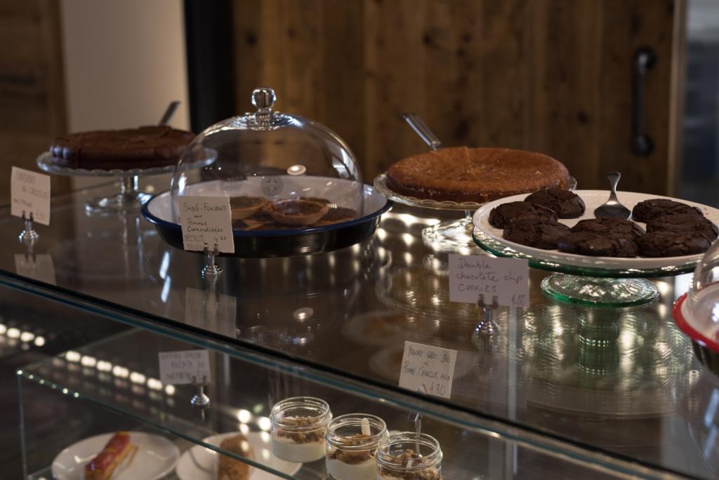 Homemade sweets at Café Ex Machina