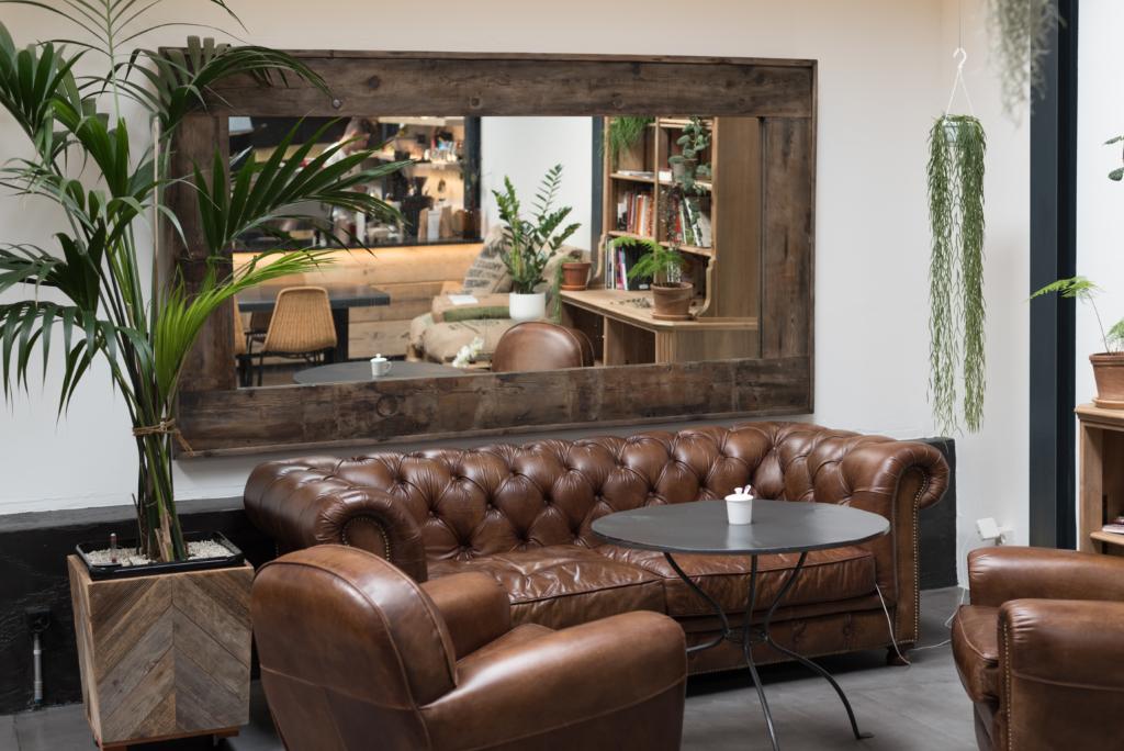 Interior design goals at Café Ex Machina