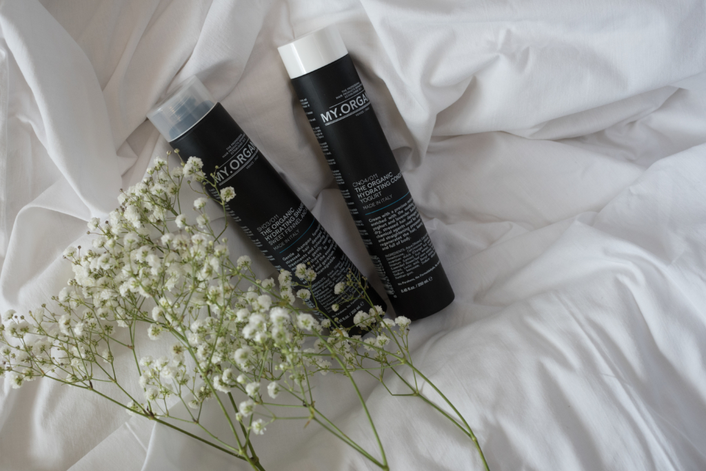 The Organic Hydrating Shampoo (Aloe & Fennel) & The Organic Hydrating Conditioner (Yogurt)