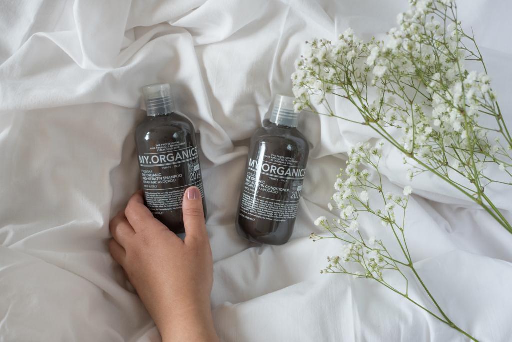 The Organic Pro-Keratin Shampoo (Argan & Avocado) & The Organic Pro-Keratin Conditioner (Argan & Avocado)