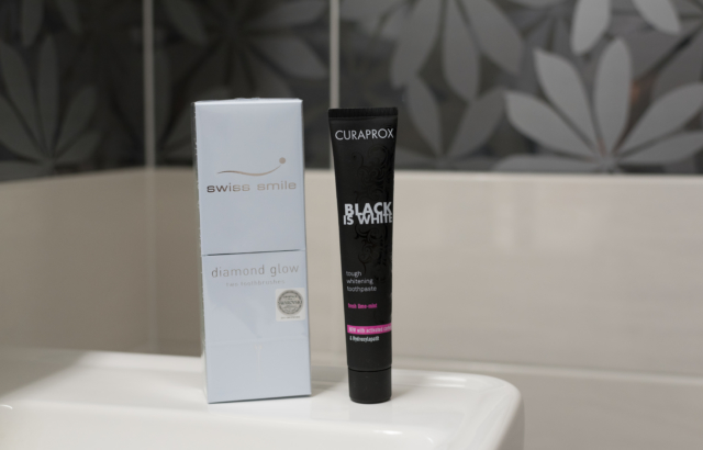 Black is White by Curaprox + Giveaway