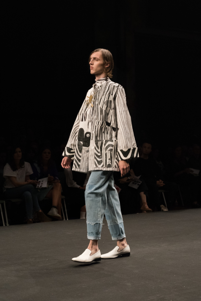 HEAD Genève collection during the catwalk at Mode Suisse