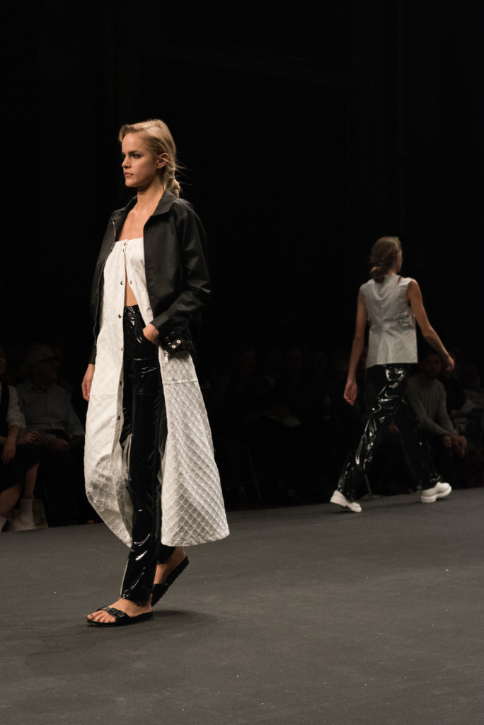 WEER collection during the catwalk at Mode Suisse