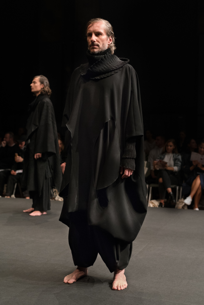 De Niz Christa de Carouge's collection at Mode Suisse during the show