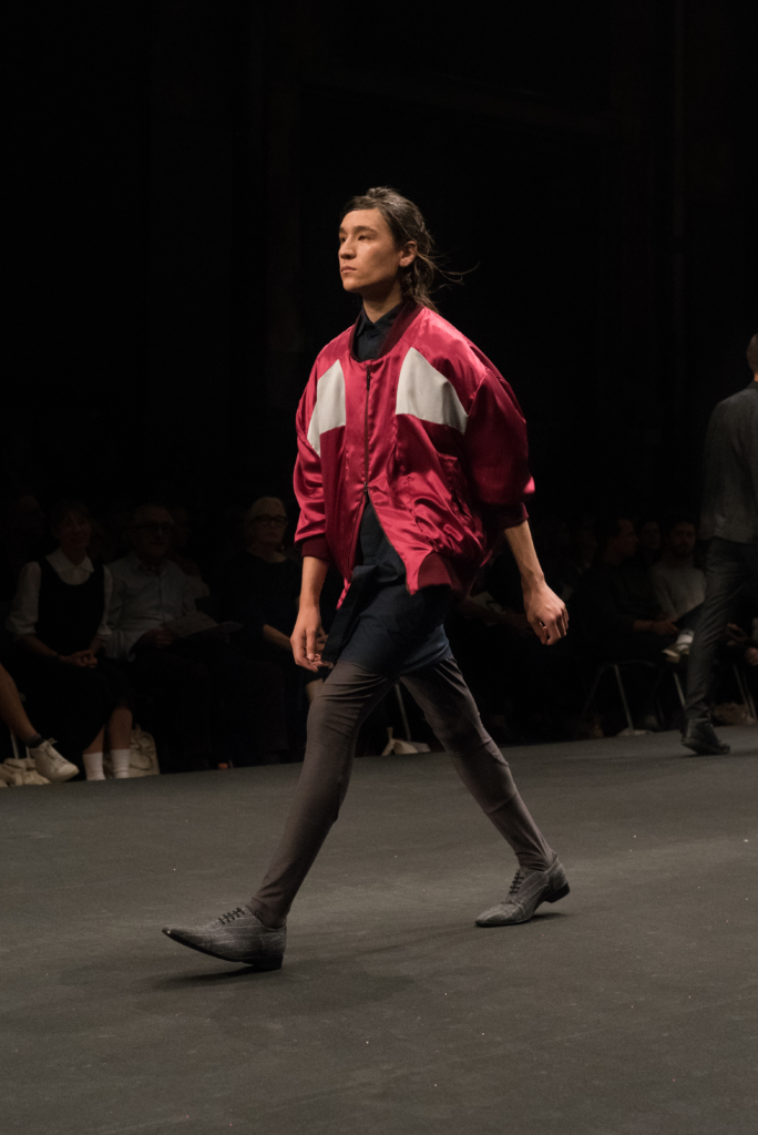 Garnison collection during the catwalk at Mode Suisse
