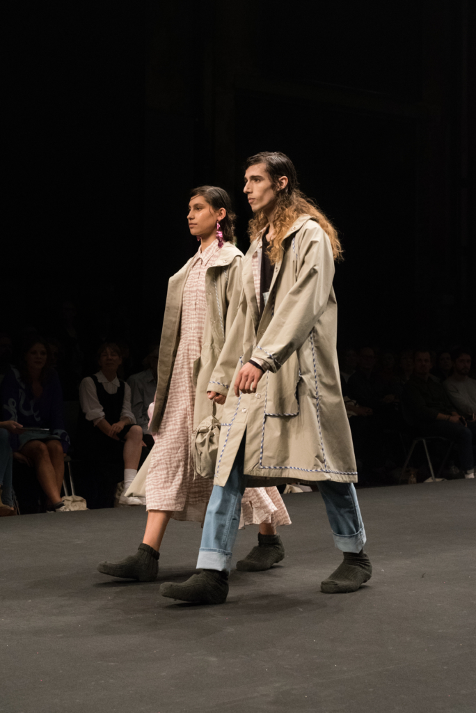 eSJZ collection during the catwalk at Mode Suisse