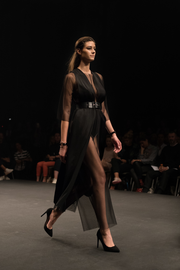 YVY collection during the catwalk at Mode Suisse
