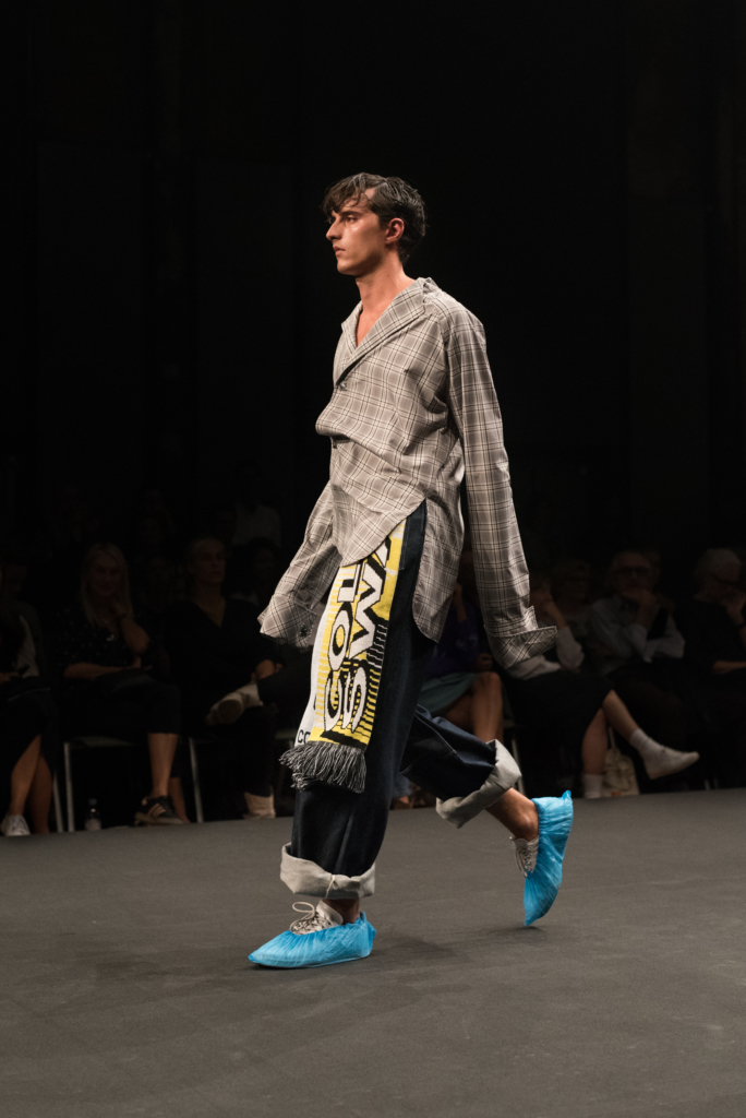 Collective Swallow collection during the catwalk at Mode Suisse