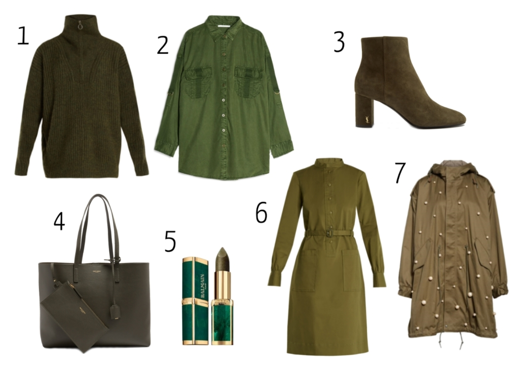 Claire's khaki moodboard for Fall
