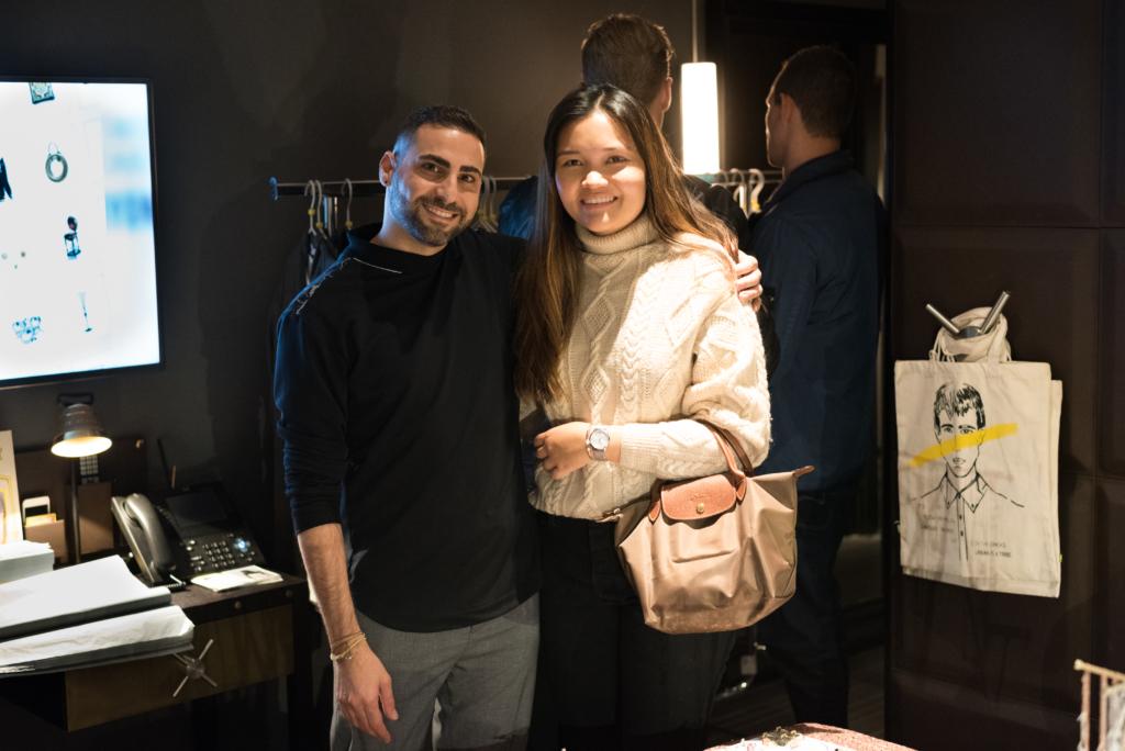 Claire Ketterer and Eliran Ashraf