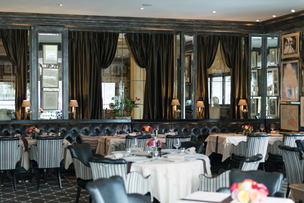 The Windows Restaurant at the Hotel d'Angleterre
