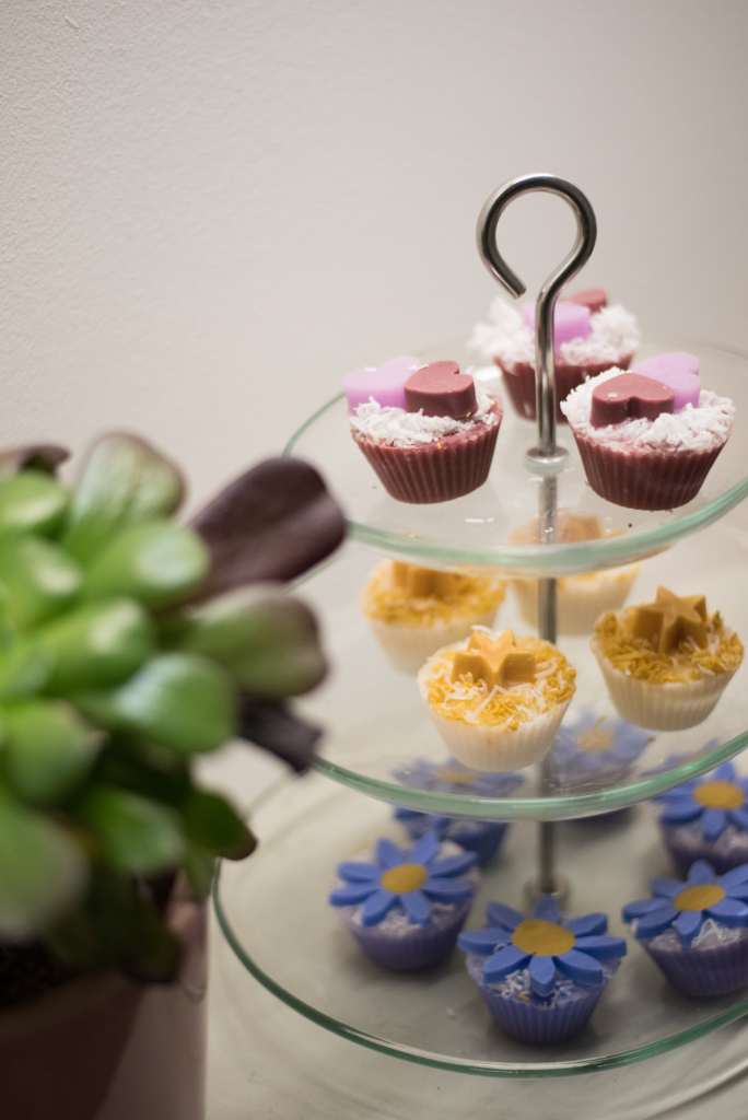 Cupcake shaped soaps