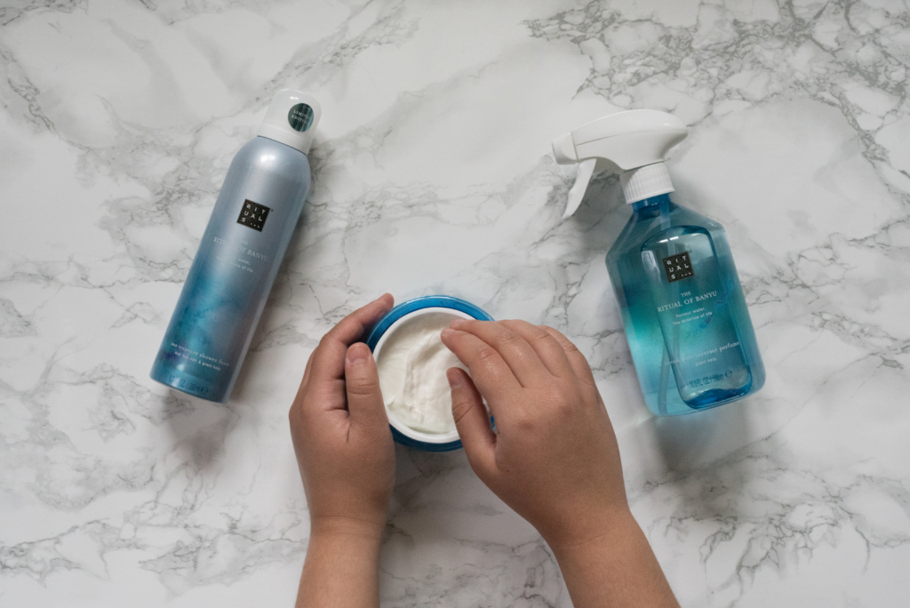 Smoothing body cream with cooling effect from Rituals: The Ritual of Banyu