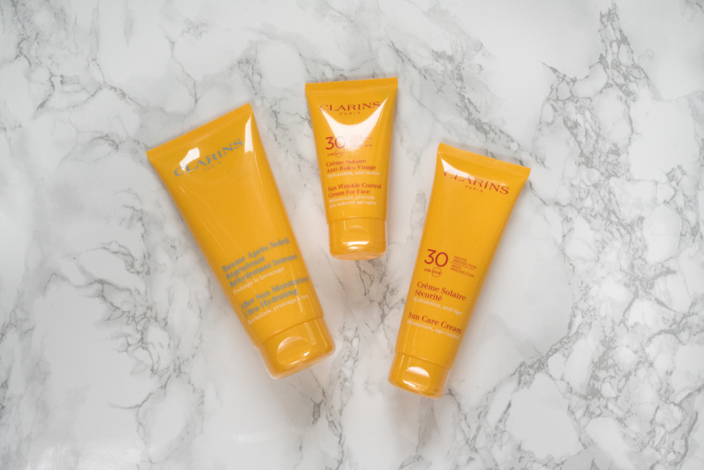 Clarins Summer products