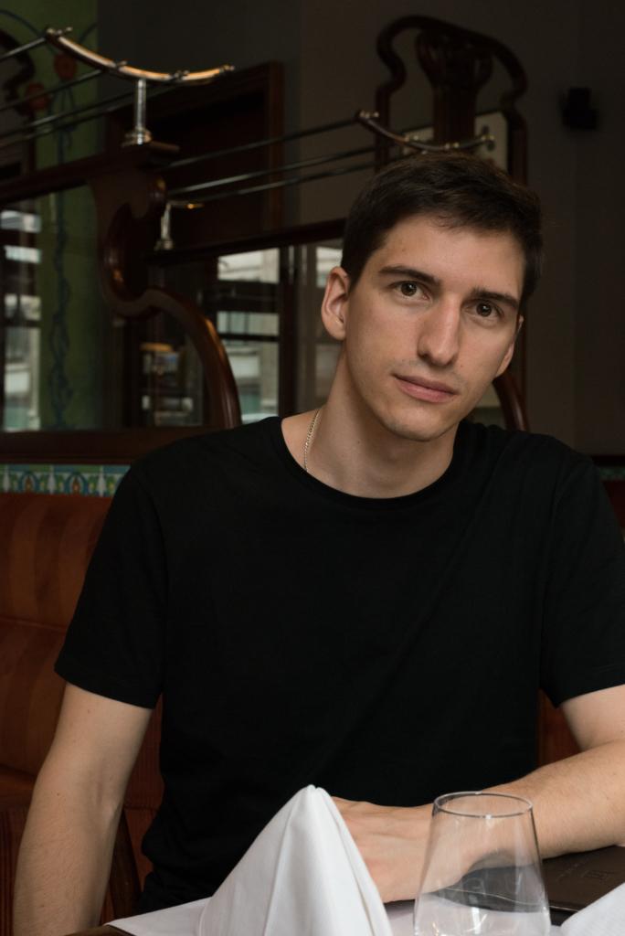 Nicolas Moser at Hôtel Tiffany