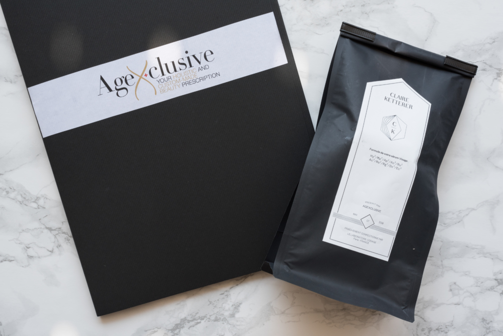 Meet AgeXclusive: Personalized Consultation & Serum Prescription