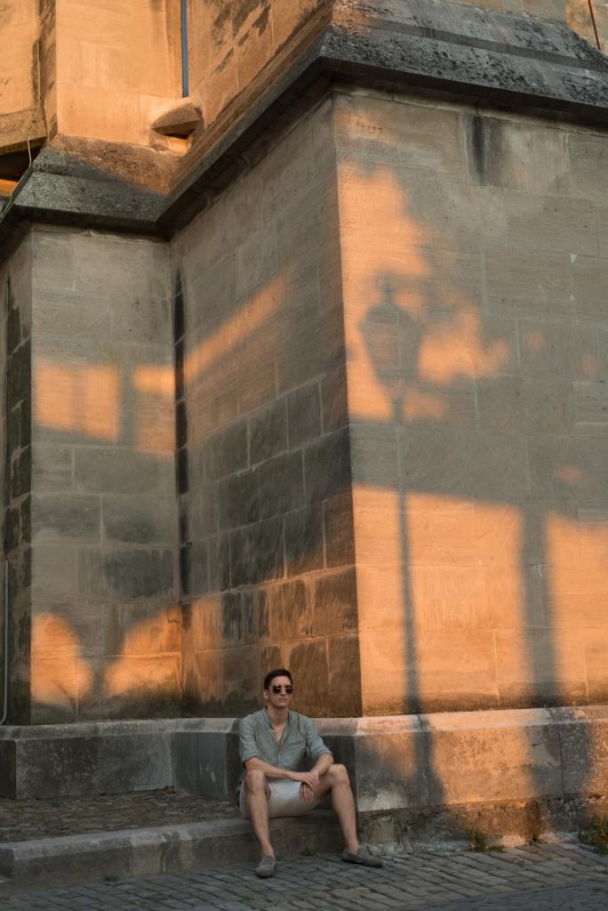 Nicolas Moser and shadows
