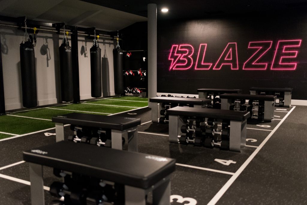 David LLoyd Clubs offer a unique Blaze course