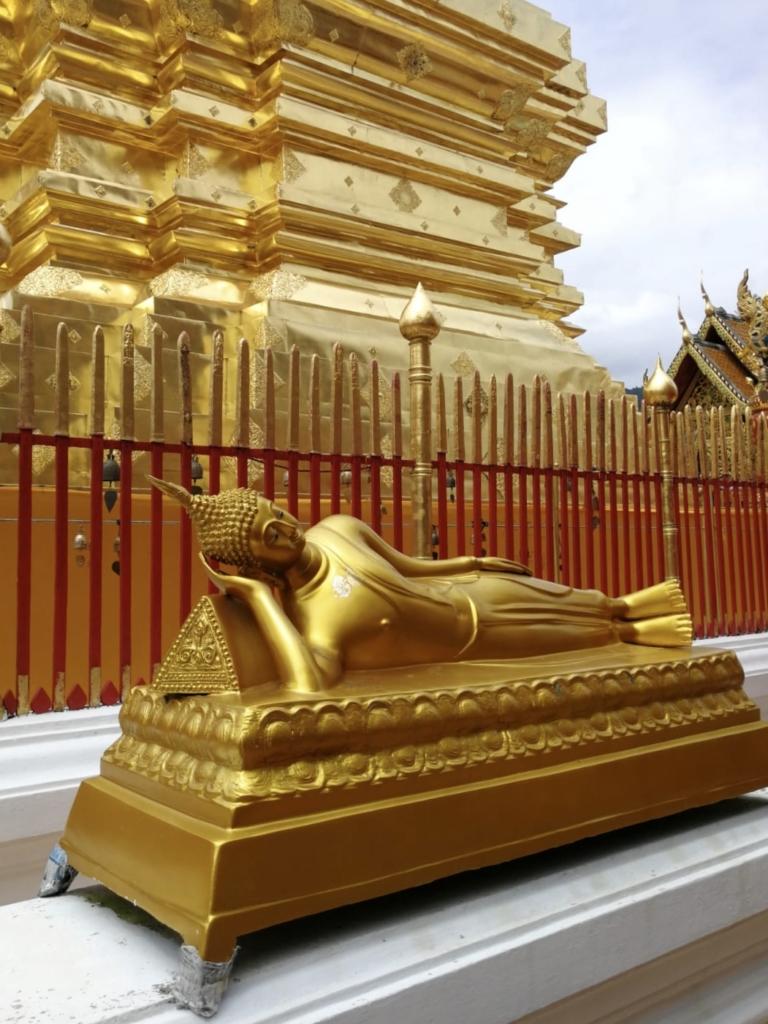 Golden at Wat Phra That Doi Suthep