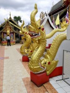 Extreme detailing at Wat Phra That Doi Kham
