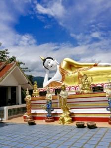 At Wat Phra That Doi Kham