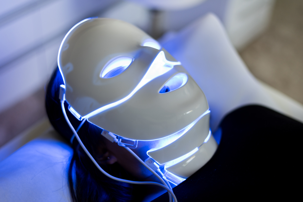 AgeXclusive's LED skin treatment