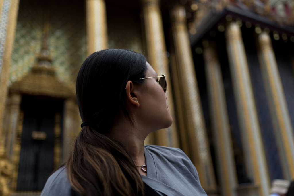 Claire Ketterer at Wat Phra Kaew