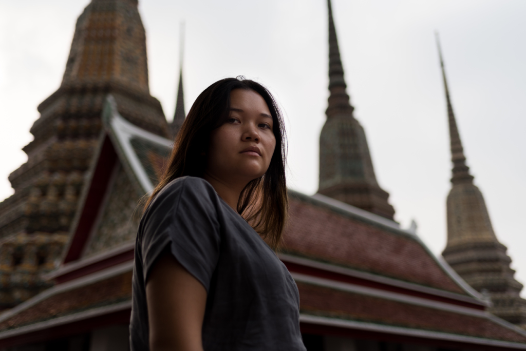 Claire Ketterer at Wat Pho