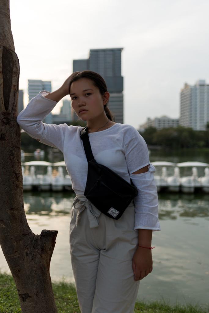 Claire Ketterer in Lumphini Park