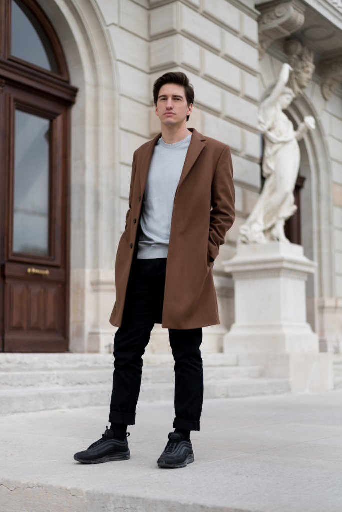 Nicolas Moser wearing luxury fashion & sports brand Emyun