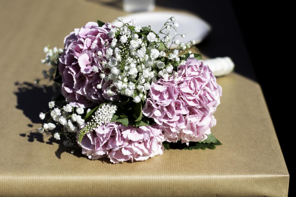 Claire's pastel bouquet
