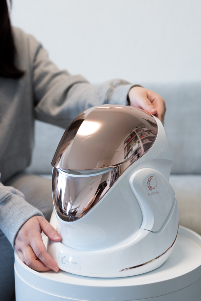 Beauty Must-Have: Cellreturn Platinum LED Mask